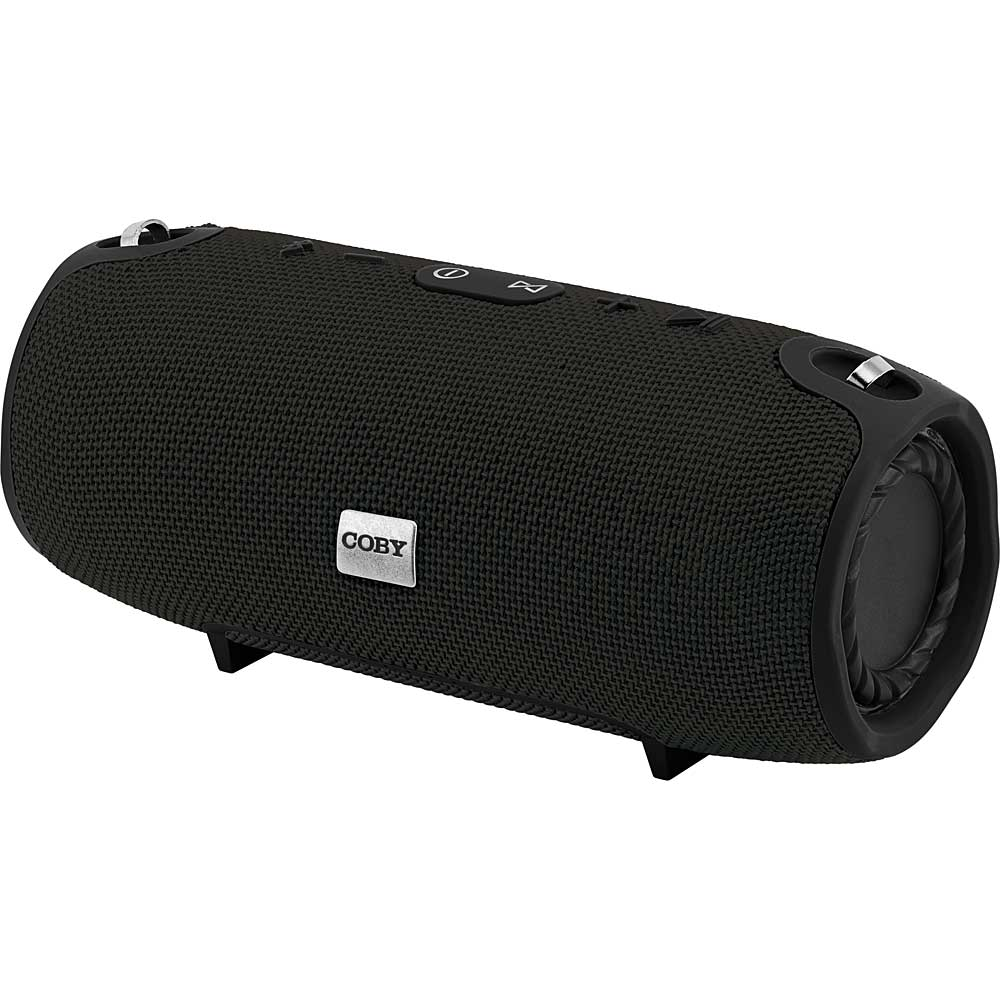 "Coby ""Reverb"" Wireless Speaker, Black - Fesco Distributors"